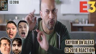Skyrim on Alexa E3 2018 Reaction