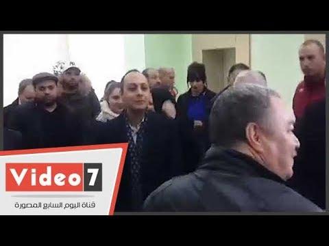 وزير الثقافة الجزائرى يكرم محمد فوزى  - نشر قبل 11 ساعة