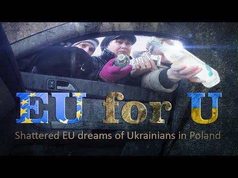 EU for U: Ukrainian migrants struggle to find work in Europe