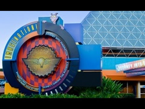 Journey into Imagination with Figment Ride Along - EPCOT Future World