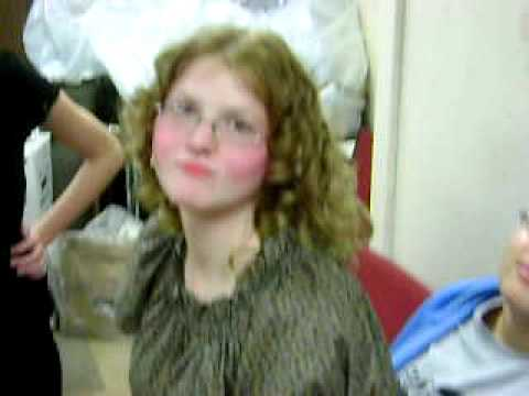 """Curtains the musical """"backstage"""""""