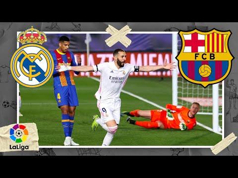 Real Madrid vs Barcelona   LALIGA HIGHLIGHTS   4/10/2021   beIN SPORTS USA