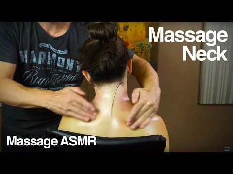 ASMR Relaxing Neck Massage