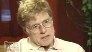 Robert Redford discusses personal struggle