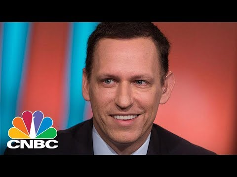 Tech Investor Peter Thiel Speaks At Economic Club Of New York - Thursday March 15, 2018 | CNBC