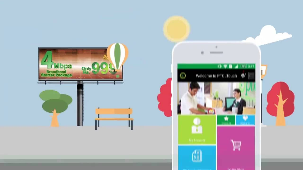 PTCL Touch Is a Customer Care Portal in an App for Managing