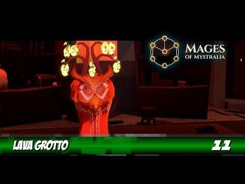 Mages of Mystralia - Lava Grotto
