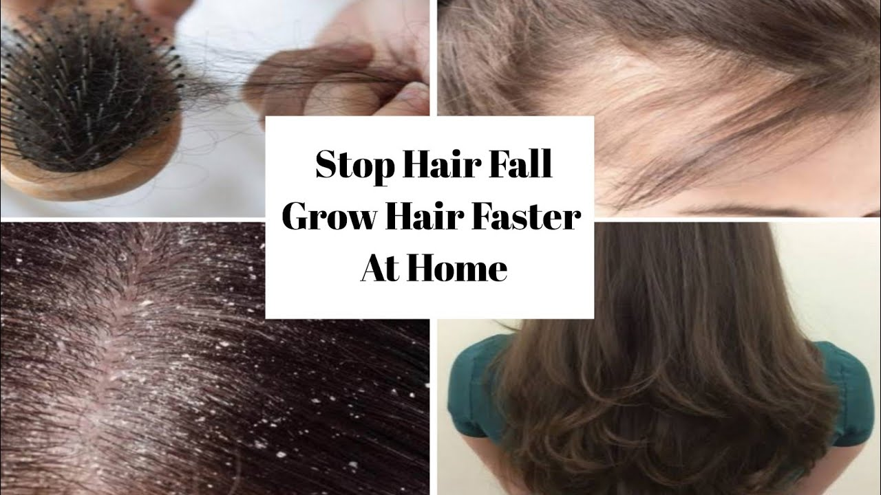 Download Stop Hair Fall | Grow Hair Faster At Home || 100% Effective Solution