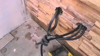 Розетки и выключатели на рельефных стенах. Почему так делать нельзя.