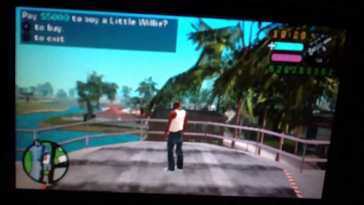 How To Little Willie In Second Island (in The First House Unlocked ) Gta  Vice City Stories (psp)