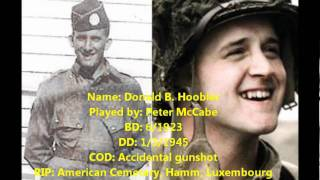 A tribute to Band of Brothers Veterans