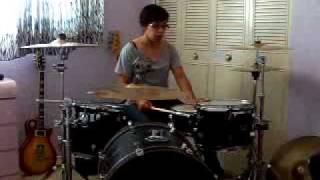 Let Go - Ally Burnett  Drum Cover YouTube Videos
