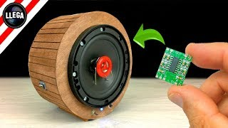 DIY Building BLUETOOTH SPEAKER with Mini Amplifier!
