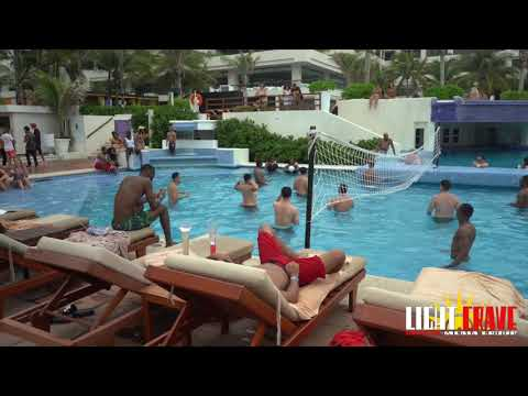 Grand Oasis Sens Resort Pool Side Cancun Mexico
