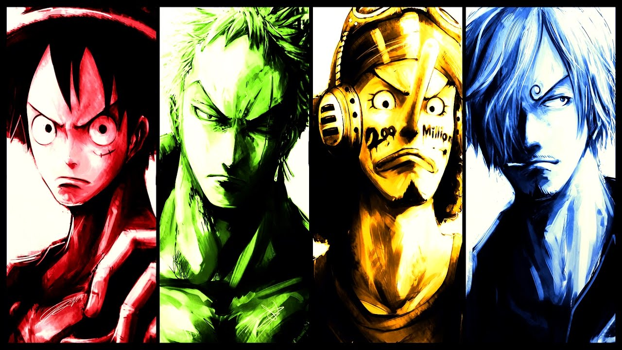 Concerning Haki(Luffy/Zoro/Ussop/Sanji) | One Piece ...  One