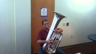 Tuba Excerpt Ride of the Valkyries Played on JinBao JBBB-200 BBb Tuba