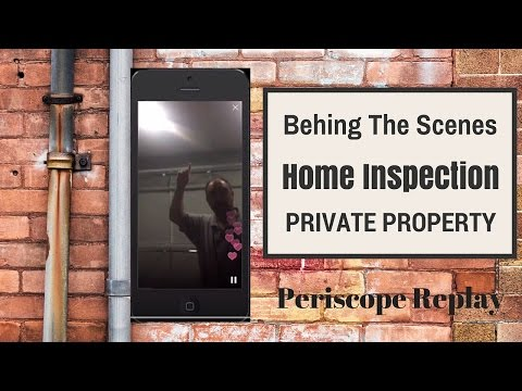 Behind the Scenes of a Home Inspection First Time Home Buyer
