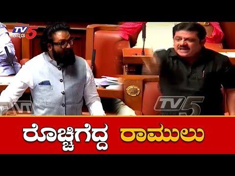 ಸದನದಲ್ಲಿ ರೊಚ್ಚಿಗೆದ್ದ ಶ್ರೀರಾಮುಲು | BJP B Sriramulu Takes on Kumaraswamy and Siddaramaiah| TV5 Kannada