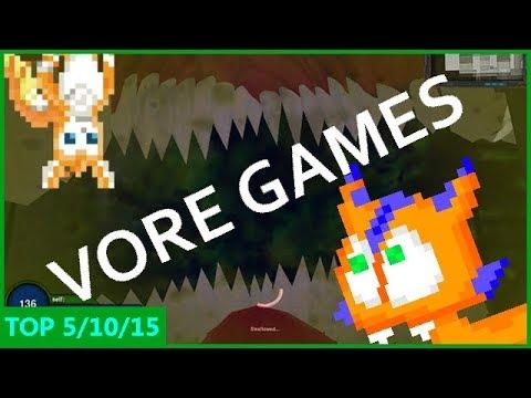Top 5 vore games (with Alex the Nimbat)