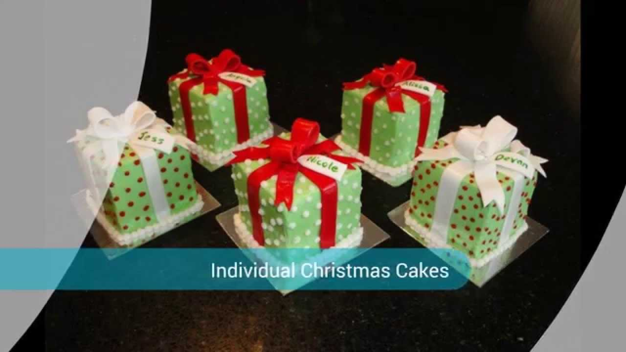 Novelty Christmas Cakes Decorating Ideas Part - 35: Different Christmas Cakes - YouTube