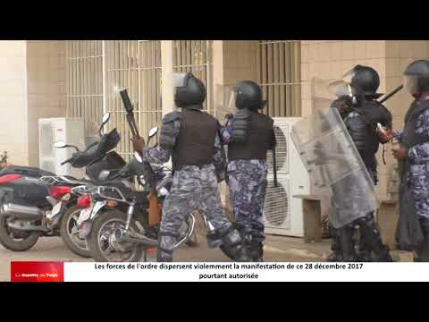 La barbarie militaire a encore fait parler d'elle au Togo ce 28 décembre 2017