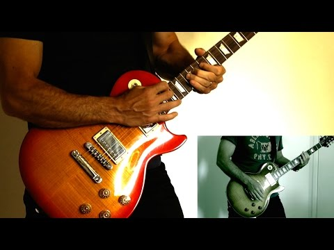 Open Fire  - The Darkness - Guitar cover