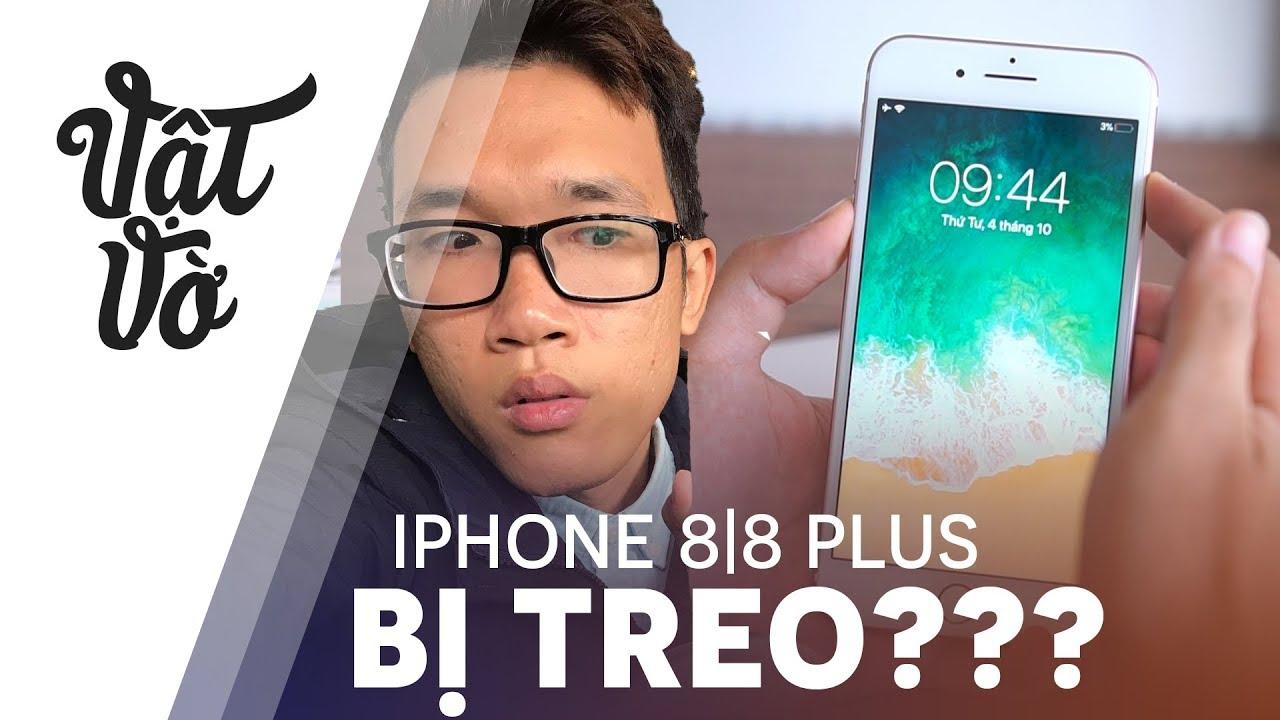 iPhone 8|8 Plus bị treo: đây là cách để reset