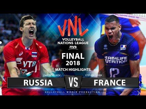 Russia v France