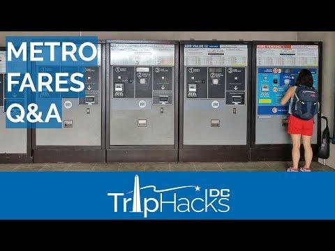 DC Metro Fares Explained & WMATA Q&A