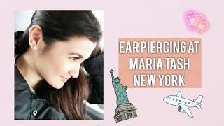 Had my ear pierced in New York?! NYC Vlog! | Camille Prats