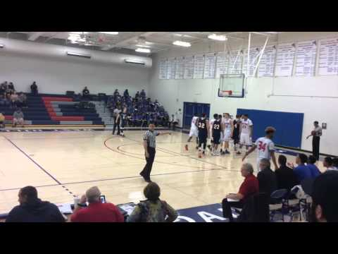 West Hills vs. College of Sequoias Men's Basketball FULL GAME 2/13/16