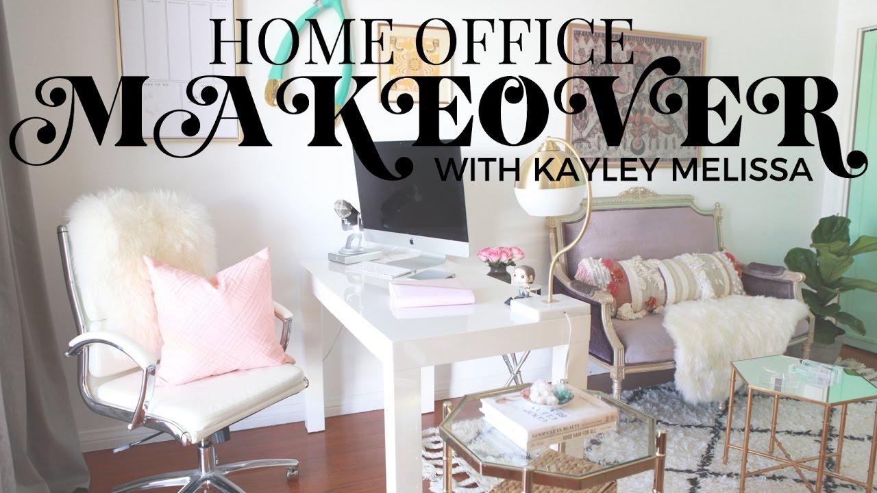 home office makeover. Home Office Makeover With Kayley Melissa