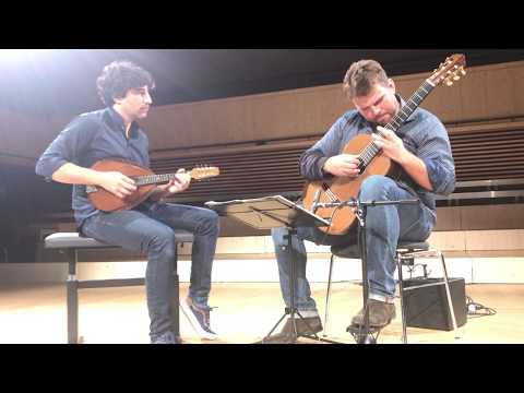 Avi Avital and Lukasz Kuropaczewski play Nana by M. de Falla