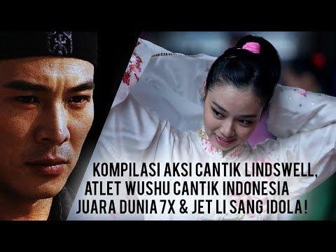 Asian Games 2018: Aksi Keren Si Cantik Lindswell Juara Dunia Wushu Indonesia Siap Sabet Emas!