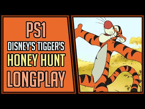 Disney's Tigger's Honey Hunt (100%) | PS1 | Longplay | Walkthrough #11 [4Kp60]