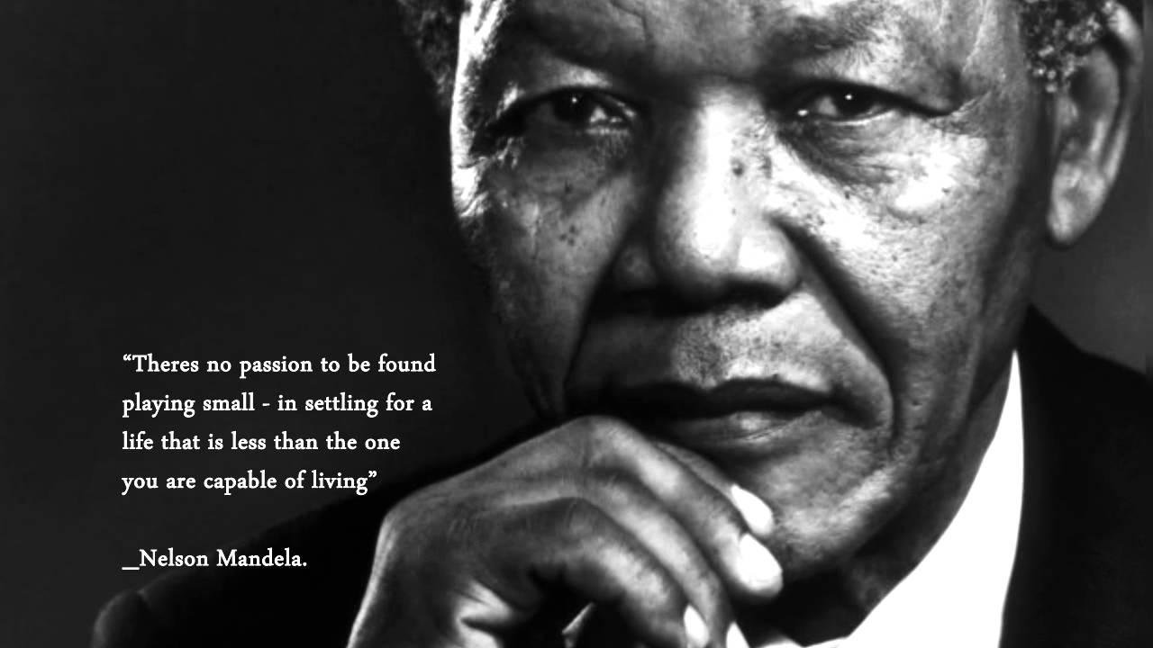 Nelson Mandela Quote No 2 Youtube