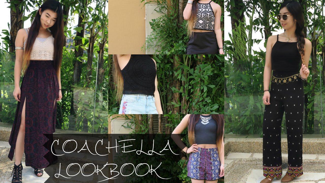 5b32b801e515 Coachella Lookbook 2016    Bohemian Outfit Ideas - YouTube