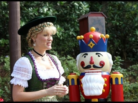 german christmas traditions with helga and the nutcracker at epcot youtube. Black Bedroom Furniture Sets. Home Design Ideas