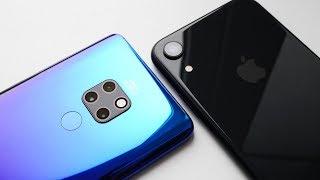 Сравнение камер Huawei Mate 20 vs iPhone Xr