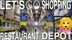 LET'S GO SHOPPING - RESTAURANT DEPOT! (IT'S LIKE 30% CHEAPER THAN COSTCO!)