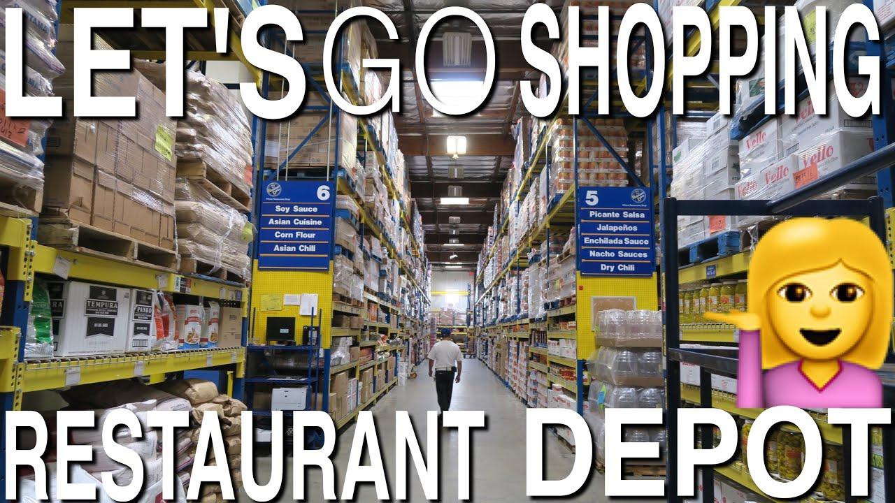 let's go shopping - restaurant depot! (it's like 30% cheaper than