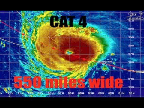 NEW UPDATES - East Coast CAT 4 - Track / Storm Surge   Hawaii   West Pacific