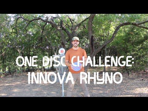 One Disc Challenge: Innova Rhyno   Highlights (and lowlights)   Disc Golf