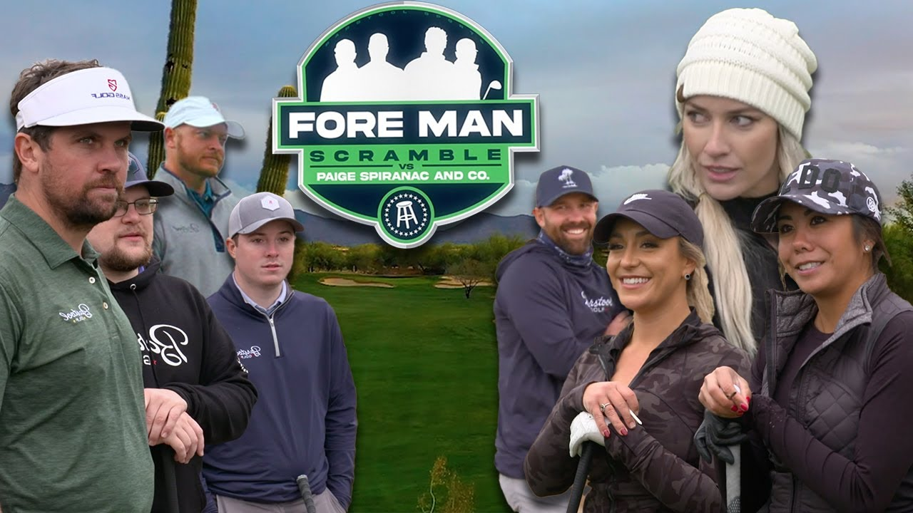 Paige Spiranac & co. vs. The Fore Man Scramble (Grayhawk Golf Club)