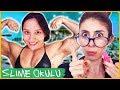 Slime Okulu Öğretmen Öğrenci Spor Yapıyoruz Eğlenceli Çocuk Videosu Dila Kent