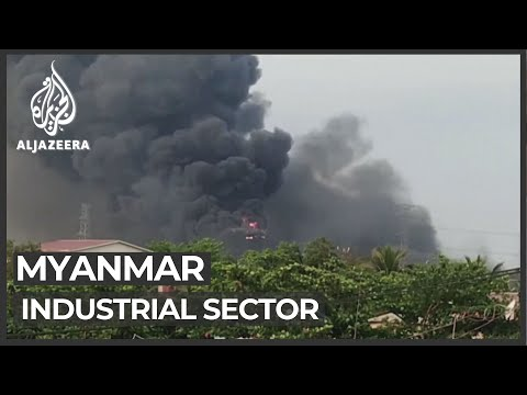 Myanmar unrest has significant effect on industrial sector