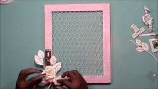 ~Swirlydoos Kit Club~ Chicken Wire Frame with Kim