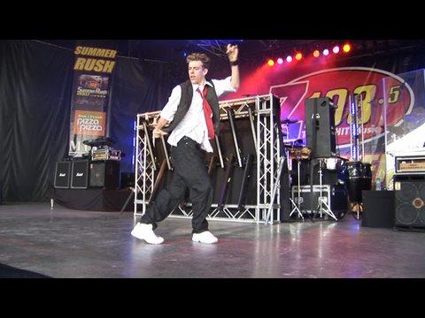 'The Way I Are' Hip Hop Dance - Timbaland - Corey Vidal at Summer Rush 2007 (Morning After Dark)