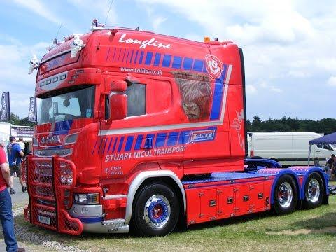 SNT Scania Longline | Stuart Nicol Transport | Malvern Truck