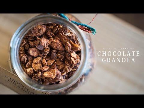 Chocolate Granola (vegan) ☆ チョコレートグラノーラの作り方